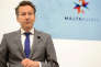 Le président del'Eurogroupe, Jeroen Dijsselbloem, lors d'une réunion des dix-neuf ministres des finances de la zone euro à La Valette (Malte), le 7 avril.