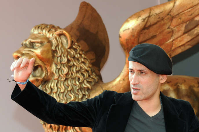 Le réalisateur algérien Tariq Teguia lors de la projectiond de son film «Inland» («Gabbla») lors de la 65e Mostra de Venise, en septembre 2008.