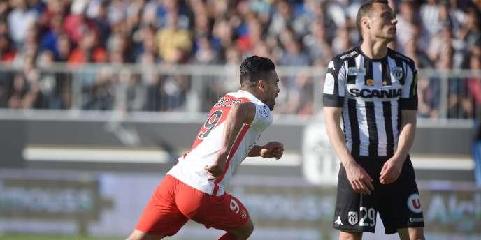 Pour son retour, l'attaquant colombien de Monaco inscrit le seul but de la rencontre à Angers, le 8 avril.