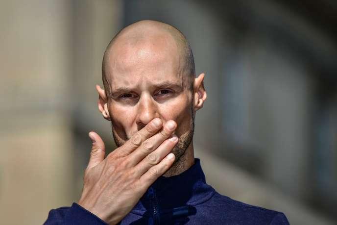 A Compiègne, lors de la présentation des équipes le 8 avril, l'aurevoir de Tom Boonen.