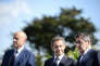 Alain Juppé, Nicolas Sarkozy et François Fillon à La Baule, le 5 septembre 2015.