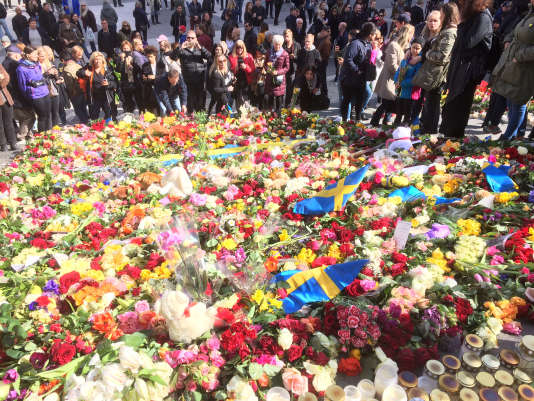 Une journée d'hommage national aux victimes de l'attaque aura lieu lundi 10 avril en Suède.