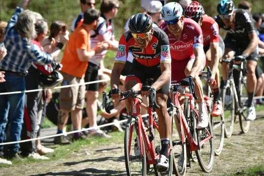 Le Belge Greg Van Avermaet a remporté la 115e édition de Paris-Roubaix , le 9 avril.