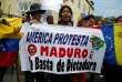 Manifestation anti-Maduro de Vénézuéliens vivant au Pérou, à Lima, en avril 2017.