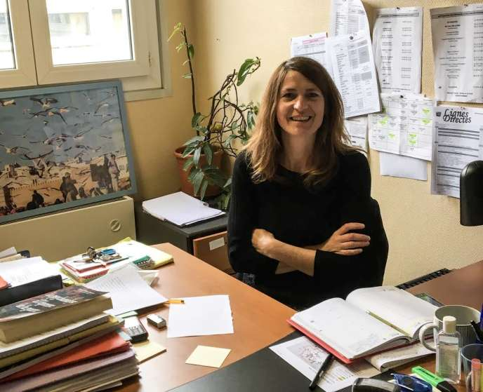 Marie-Laure Choquet, psychologue au CADA Coallia de Rennes.