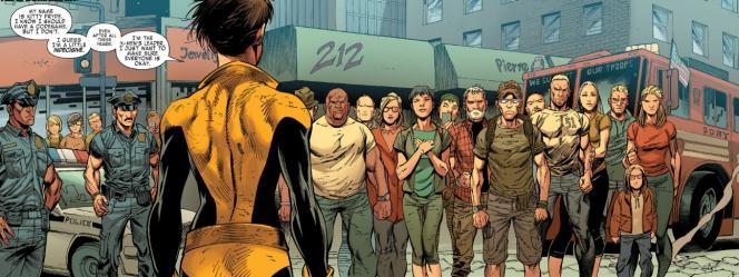 Sur cette image, plusieurs symboles controversés, dont le «jewerly», le «212» et le «51», inscrit sur le t-shirt d'un homme, à droite de la foule.
