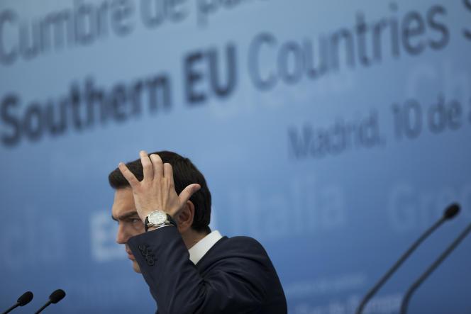 Le premier ministre grec, Alexis Tsipras, le 10 avril 2017.