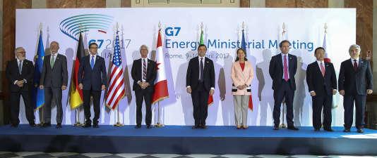 Les ministres de l'énergie du G7 ne sont pas parvenus à se mettre d'accord sur une déclaration commune lors d'une réunion lundi à Rome, les Etats-Unis «réservant leur position» sur la lutte contre le changement climatique.