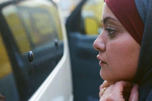 Shaden Kanboura (Nour) dans le film israélien, palestinien et français deMaysaloun Hamoud,«Je danserai si je veux» («Bar Bahar»).