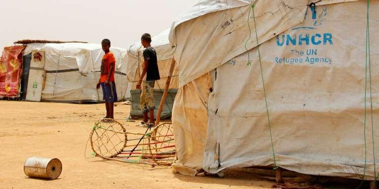 Le camp de réfugiés de Goudoubo, dans le nord-est du Burkina Faso.