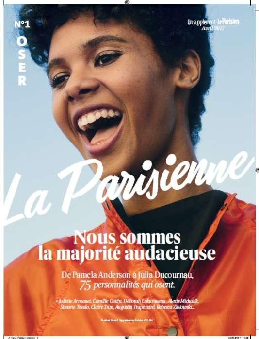 Couverture du magazine «La Parisienne», supplément féminin du quotidien « Le Parisien».