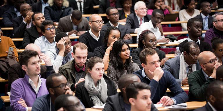 Auforum X-Afrique 2017, une rencontre entre start-up et investisseurs à l'Ecole polytechnique, en France, en février 2017.