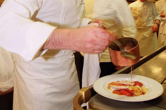 Le Cinq est le restaurant du George-V, dans le 8e arrondissement de Paris.