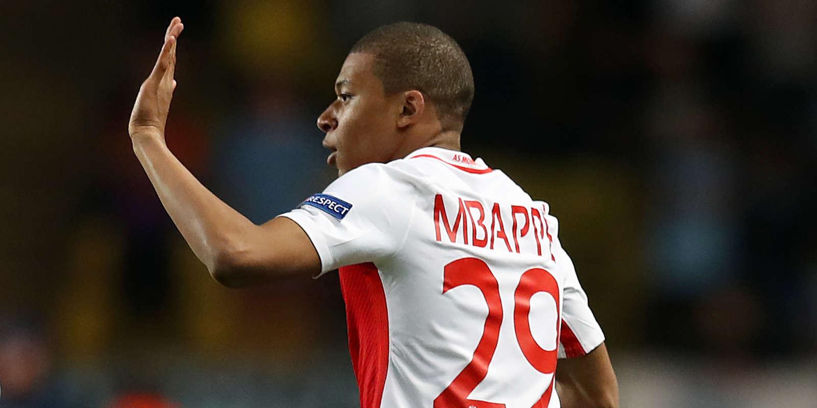 Kylian Mbappé lors du match face à Manchester City.