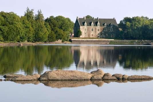 Le château de Comper à Concoret (Morbihan) où se déroule le festival du conte Badlagoule en Brocéliande, jusqu'au 17 avril 2017.