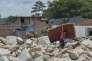 Dans les ruines de Mocoa, le 4 avril , trois jours après la coulée de boue et de rochers qui a dévasté la ville.