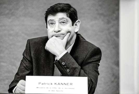 Le ministre de la ville, de la jeunesse et des sports, Patrick Kanner.