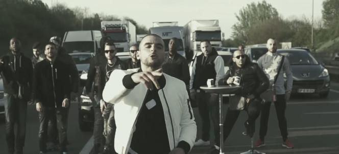 « Fianso» dans le clip de «Toka», tourné en avril 2017.