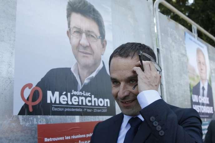 Benoît Hamon à Villiers-le-Bel, le 12 avril.