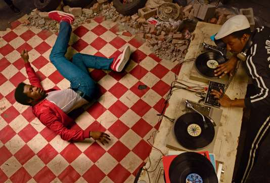 Shaolin Fantastic et son maître, Grandmaster Flash, dans« The Get Down».
