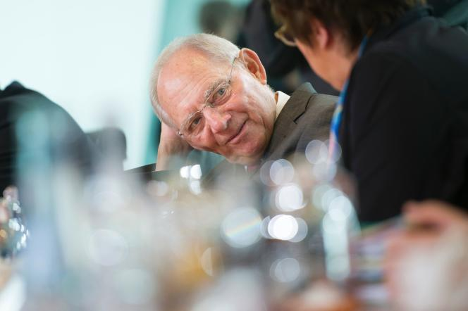 Wolfgang Schauble, ministre des finances allemand, le 12 avril, à Berlin.