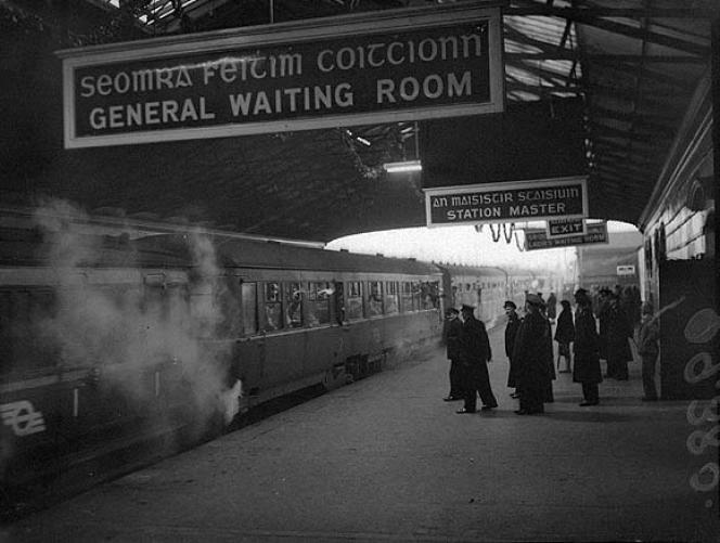 Harcourt Street Station, Dublin, 1958.