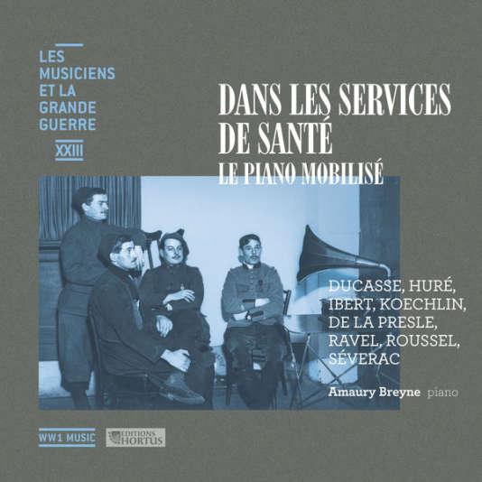 Pochette du CD 23 de la collection «Les Musiciens et la Grande Guerre».