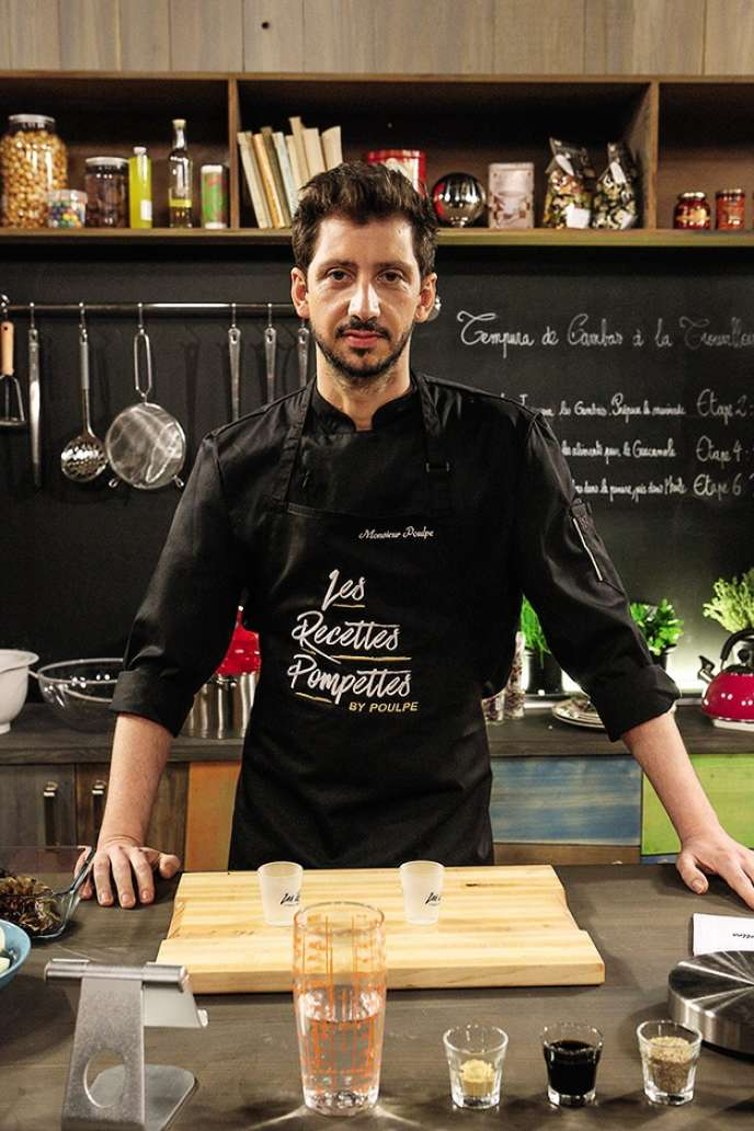 Monsieur Poulpe, l'animateur de l'émission diffusée sur YouTube, est l'un des pionniers français de la vidéo sur Internet.