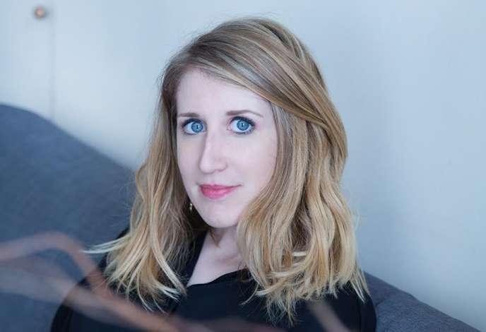 Samantha Bailly, auteure d'«Adurée déterminée» (JCLattès, mars2017).