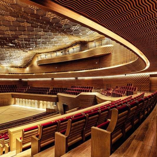 La Seine musicale, vue de l'intérieur.