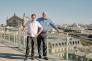 Olivier Hersent, fondateur d'Actility, et Mike Mulica, CEO de la société.