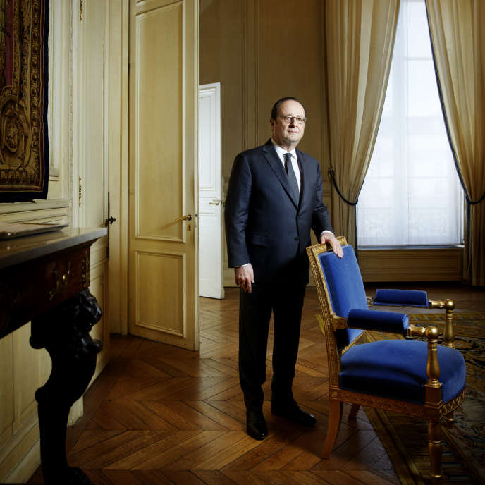 François Hollande, Président de la République Française de 2012 à 2017.
