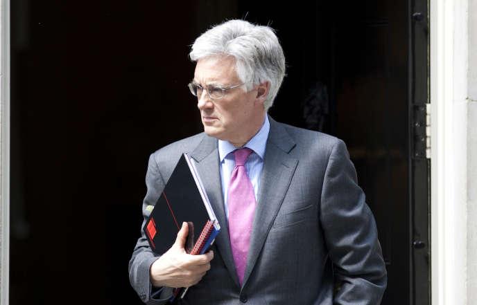 Adair Turner, l'ancien gendarme financier britannique, à Londres, en 2012.