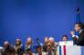 Emmanuel Macron lors d'un meeting à Pau, le 12 avril 2017.