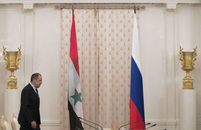 Le chef de la diplomatie russe, Sergueï Lavrov, a notamment regretté l'opposition de Washington à une proposition russo-iranienne d'enquêter sur l'attaque chimique de Khan Cheikhounen Syrie, début avril.