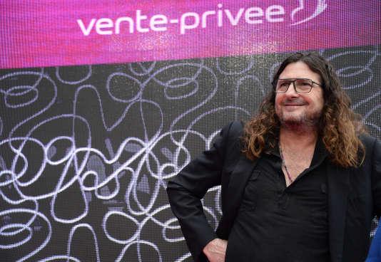 Jacques-Antoine Granjon, patron de Vente-privée. com, au siège social de l'entreprise, à Saint-Denis (Seine-Saint-Denis) , le 11 anvier 2016.