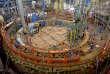 Le réacteur nucléaire Superphénix, à l'arrêt depuis 1997,de la centrale de Creys-Malville, en Isère, le 24mars. Le coût de son démantèlement est estimé à 1milliard d'euros.