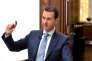 Bachar Al-Assad à Damas, le 6 avril.
