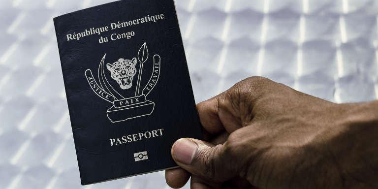 le passeport biométrique congolais, l'un des plus chers au monde.