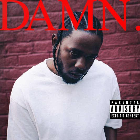 La pochette de l'album « DAMN. », de Kendrick Lamar.
