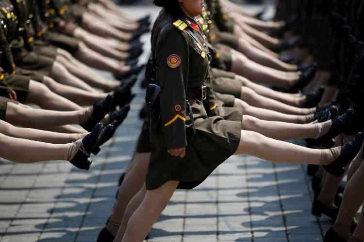 Il s'agissait aussi d'adresser un message sans équivoque sur sa puissance militaire aux Etats-Unis, à la Corée du Sud et au Japon.