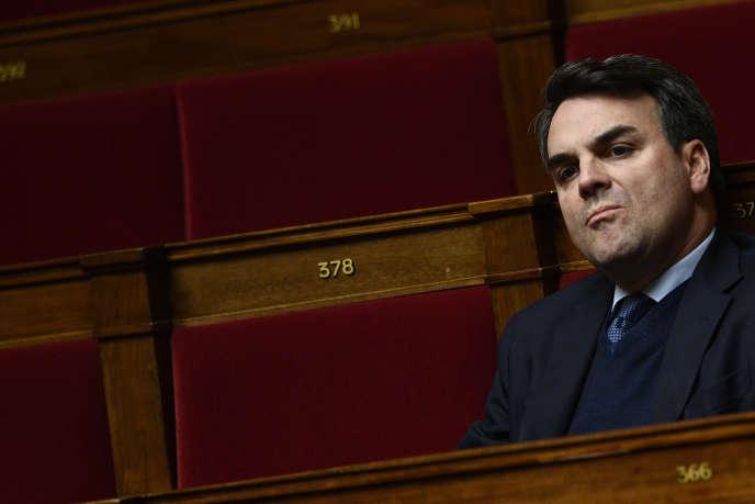 Thomas Thévenoud, le 8 février à Paris.