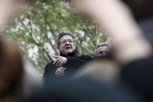 L'« insoumis» Jean-Luc Mélenchon (sur la photo) et le communiste Pierre Laurent n'ont pas réussi à trouver d'accord pour les législatives.