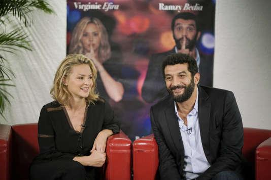 Virginie Efira et Ramzy Bedia dans la série« Dix pour cent».
