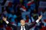 Emmanuel Macron, le candidat d'En Marche !, à Paris, le 17 avril 2017.
