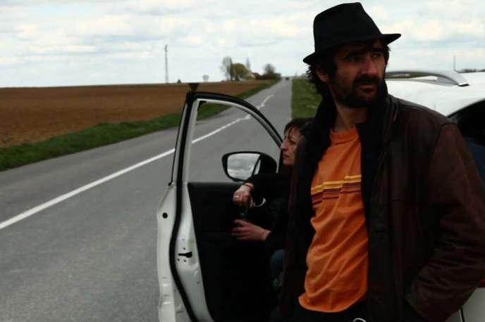 Karen Peyrard et Thomas Arnaud dans le film français deChristophe Karabache,«Zeitgeist Protest».