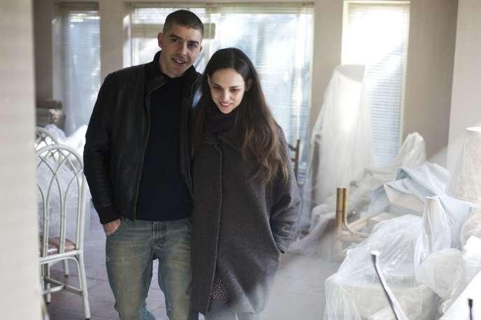 Michele Riondino et Sara Serraiocco dans le film italien deMarco Danieli,«L'Affranchie» («La Ragazza del Mondo»).