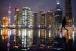 District financier de Pudong à Shanghaï, le 5 mars 2015.