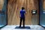 Démonstration de la plate-forme de réalité virtuelle Facebook Spaces à San Jose (Californie), le 18 avril.