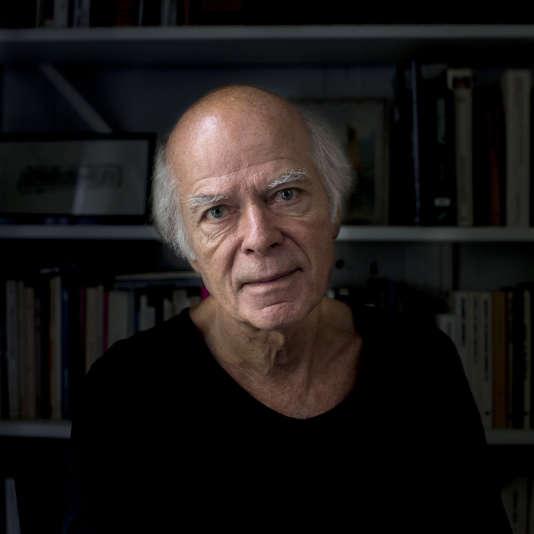 L'écrivain Pascal Quignard, 2016.